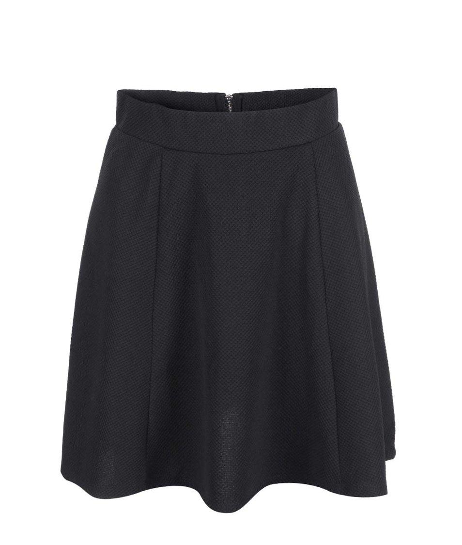 Černá sukně VILA Cela