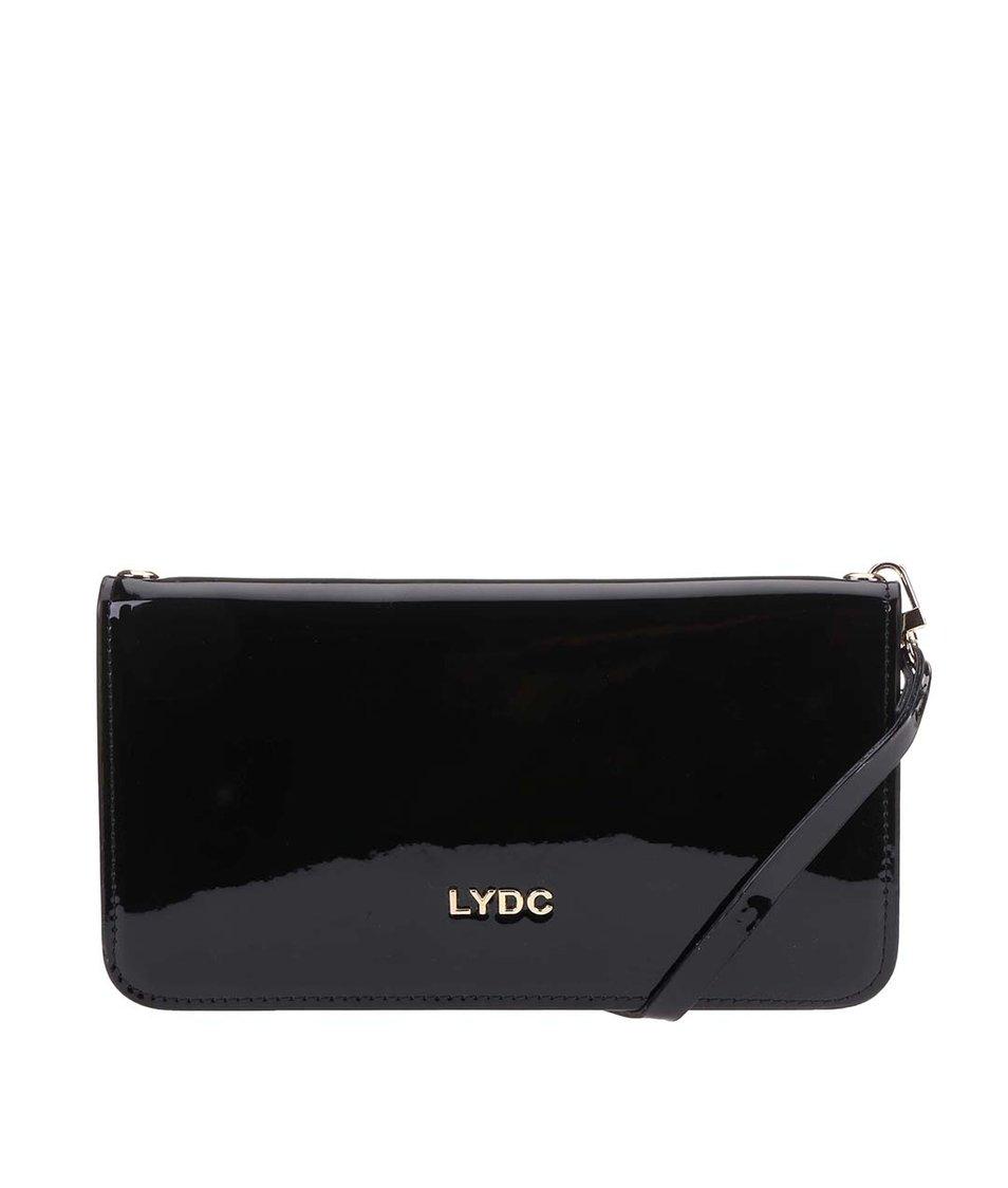 Černé lakované psaníčko LYDC