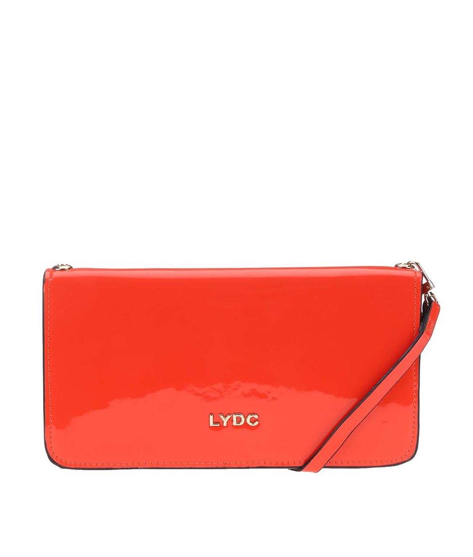 Červené lakované psaníčko LYDC