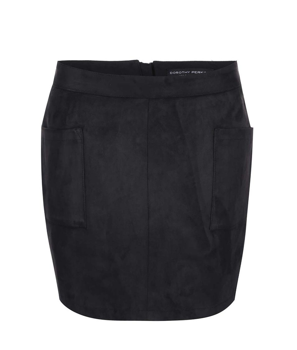 Černá sukně s kapsami Dorothy Perkins