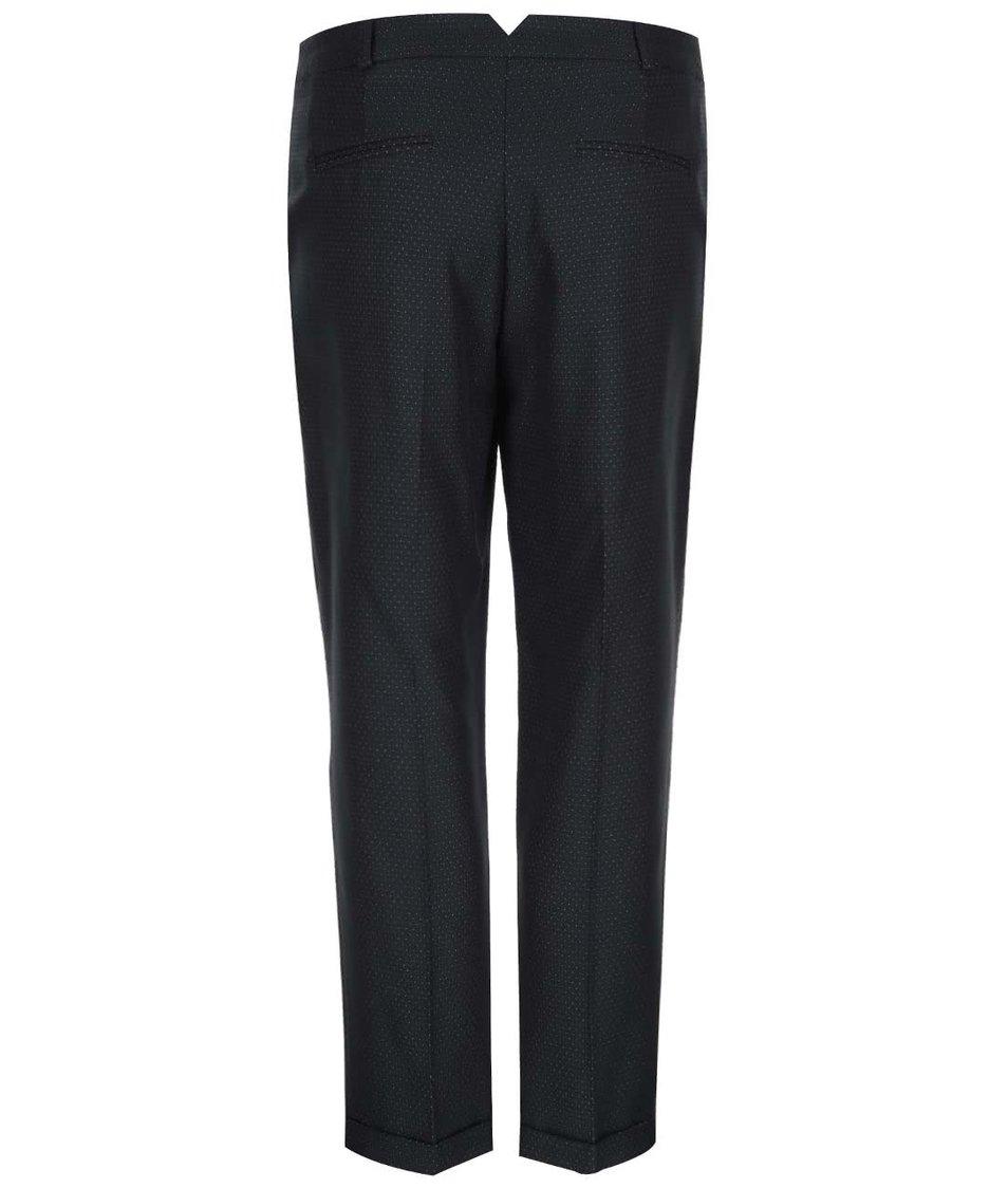 Černé kalhoty s puntíky Dorothy Perkins