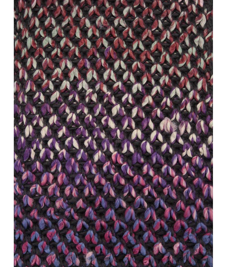 Barevná pletená dutá šála Dorothy Perkins