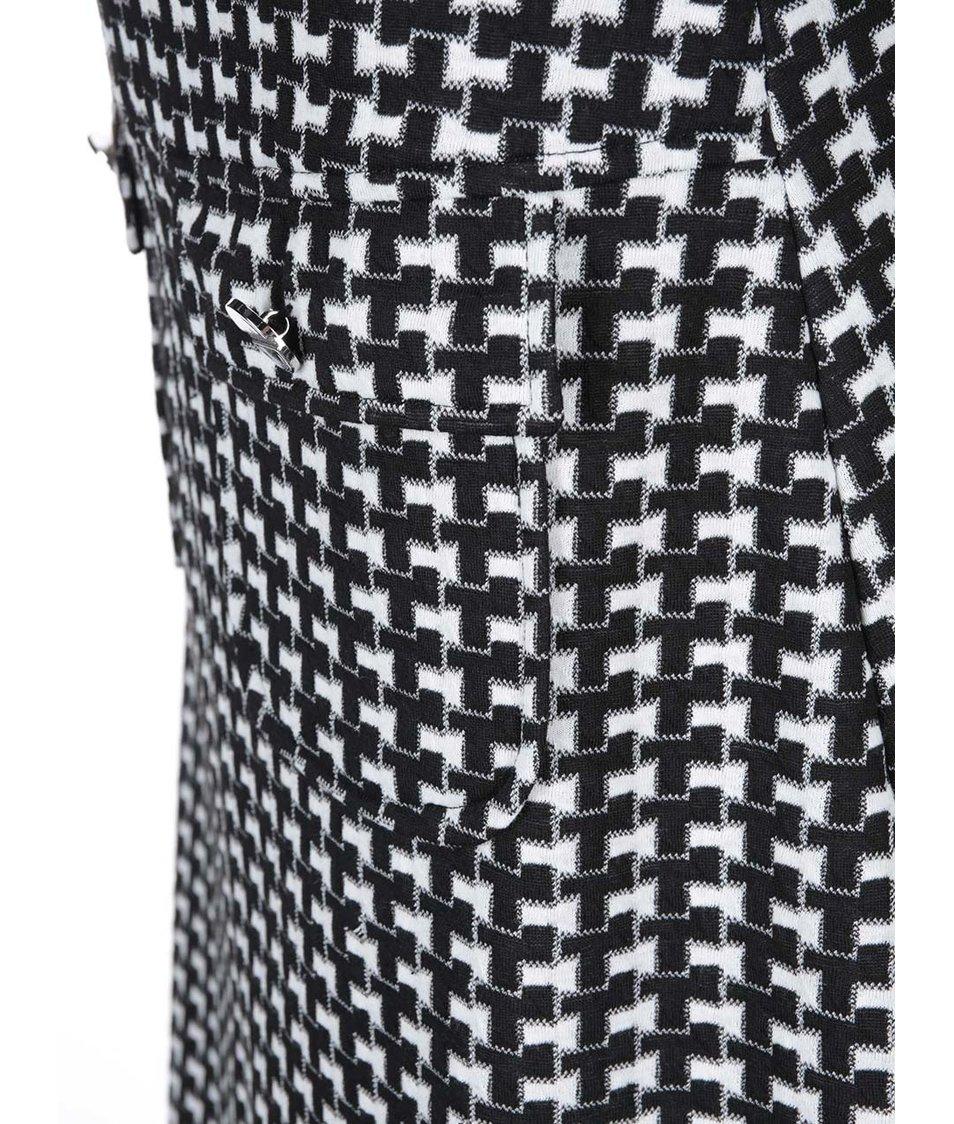 Černo-bílá vzorovaná sukně Dorothy Perkins