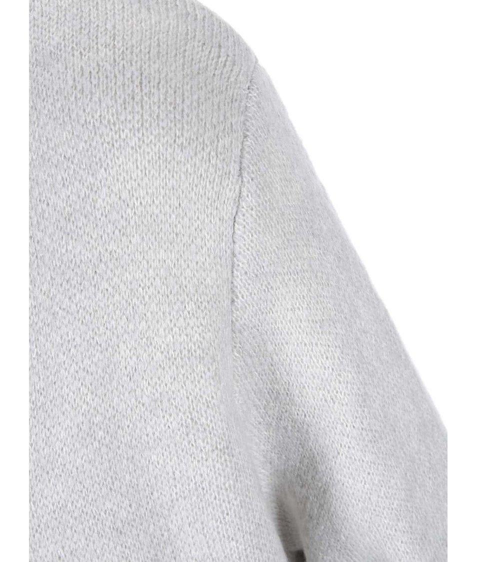 Světle šedý cardigan se vzorem Dorothy Perkins