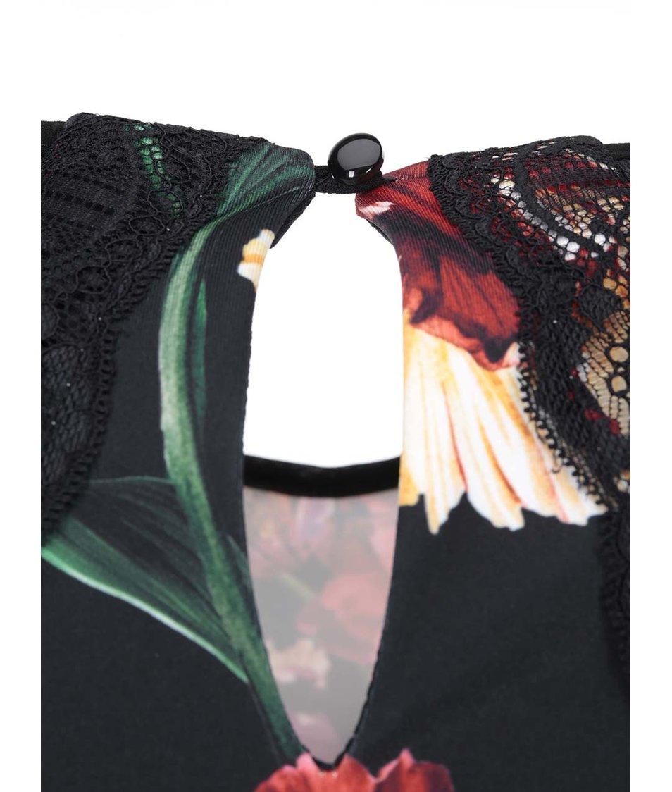 Květované pouzdrové šaty Dorothy Perkins