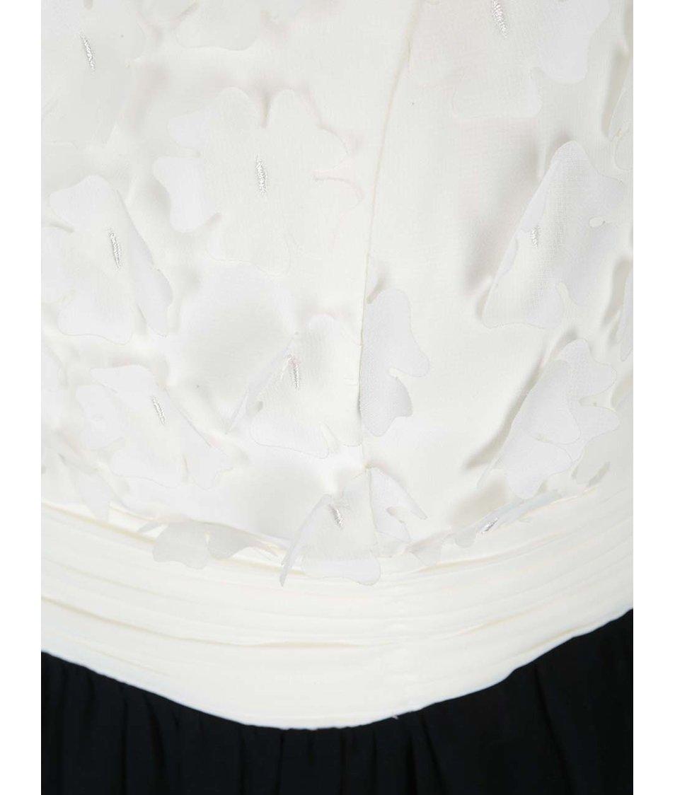 Krémovo-černé šaty Dorothy Perkins