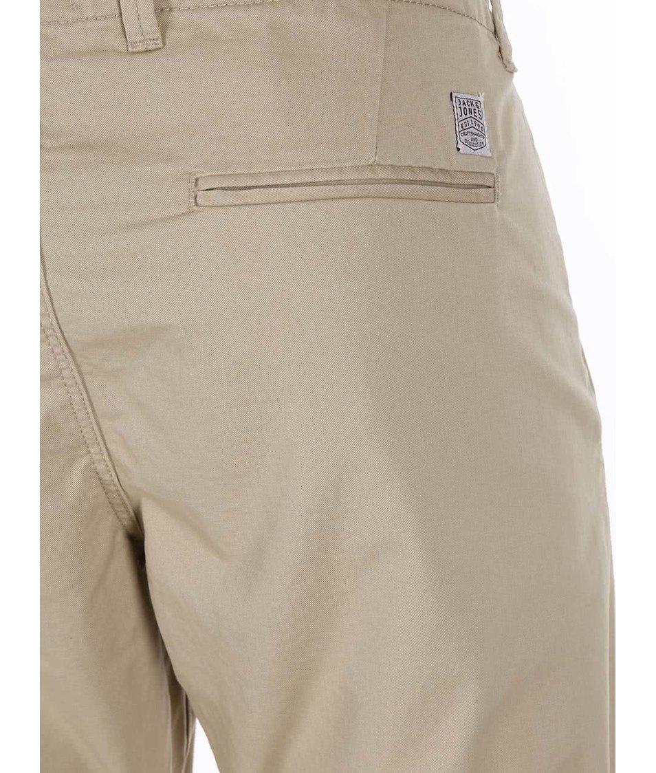 Béžové chinos kalhoty Jack & Jones Cody