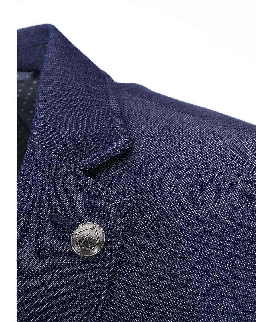 Tmavě modré sako Jack & Jones Karl