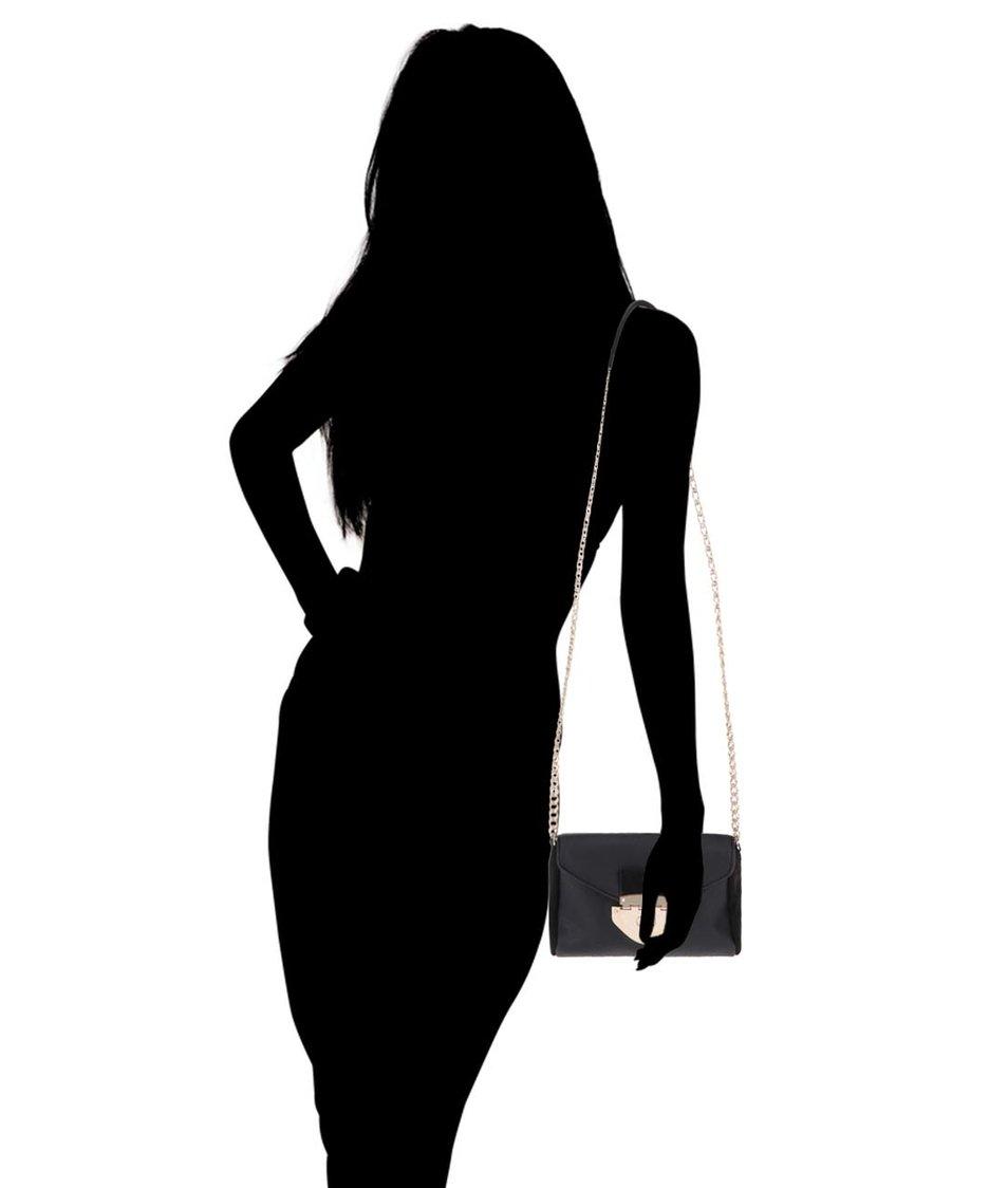 Černá menší crossbody kabelka Dorothy Perkins