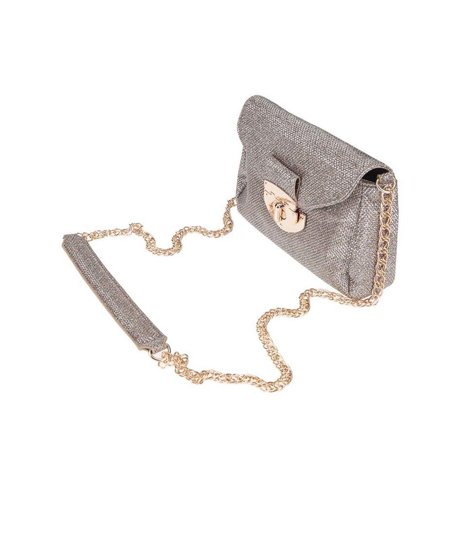 Menší crossbody kabelka ve zlaté barvě Dorothy Perkins