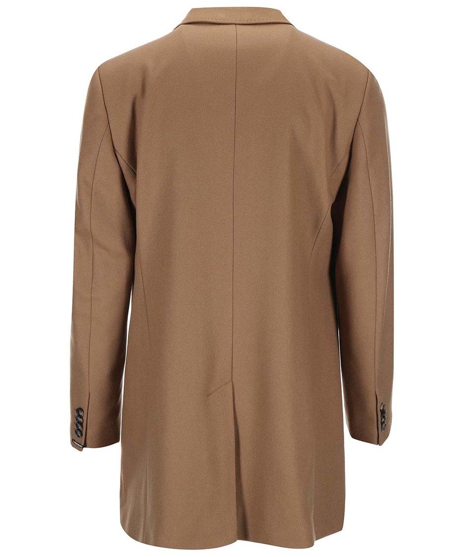 Světle hnědý vlněný kabát J.Lindeberg Wolger
