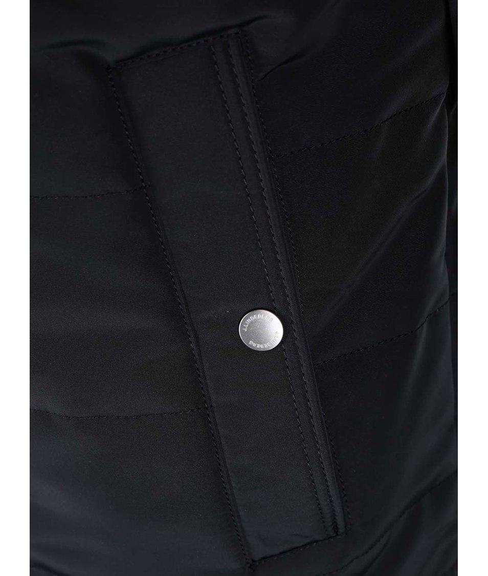 Černá bunda s detaily J.Lindeberg Bailey