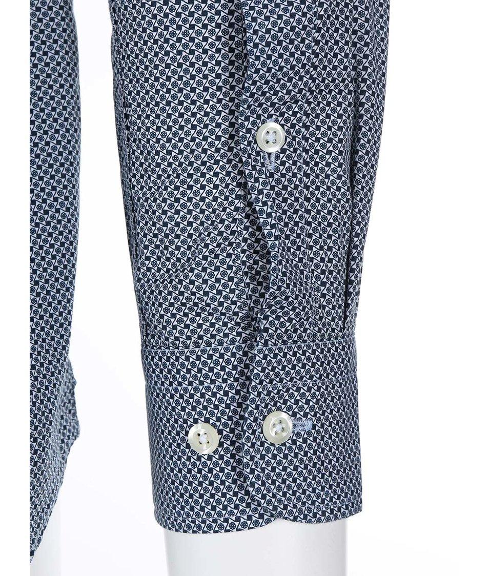 Světle modrá vzorovaná košile J.Lindeberg Dani