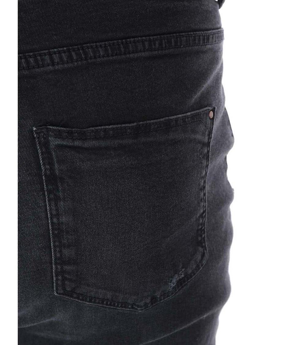 Černé slim džíny Dorothy Perkins Curve