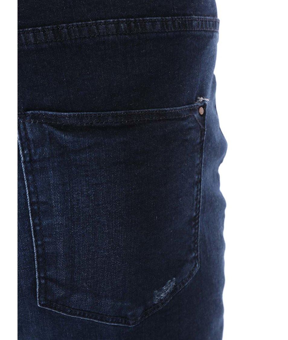 Modré slim džíny Dorothy Perkins Curve