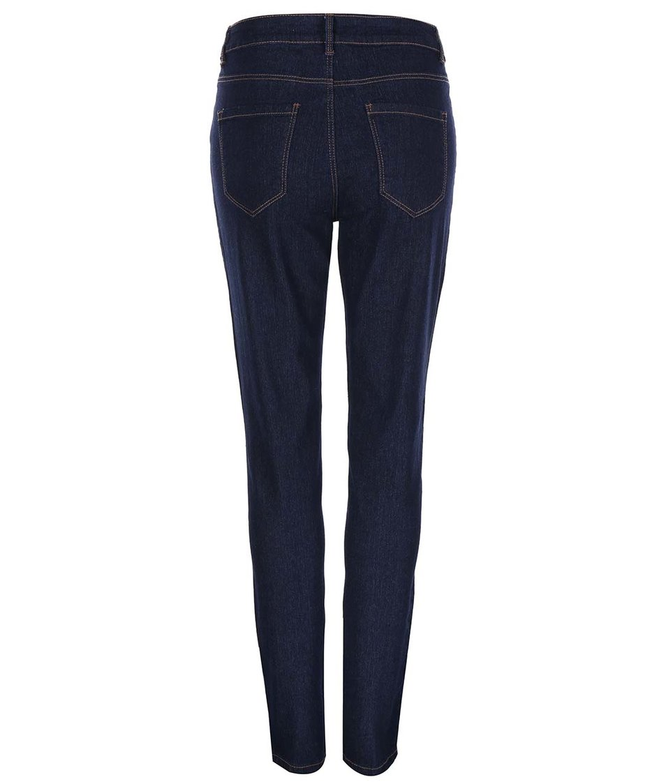 Tmavě modré skinny džíny New Look