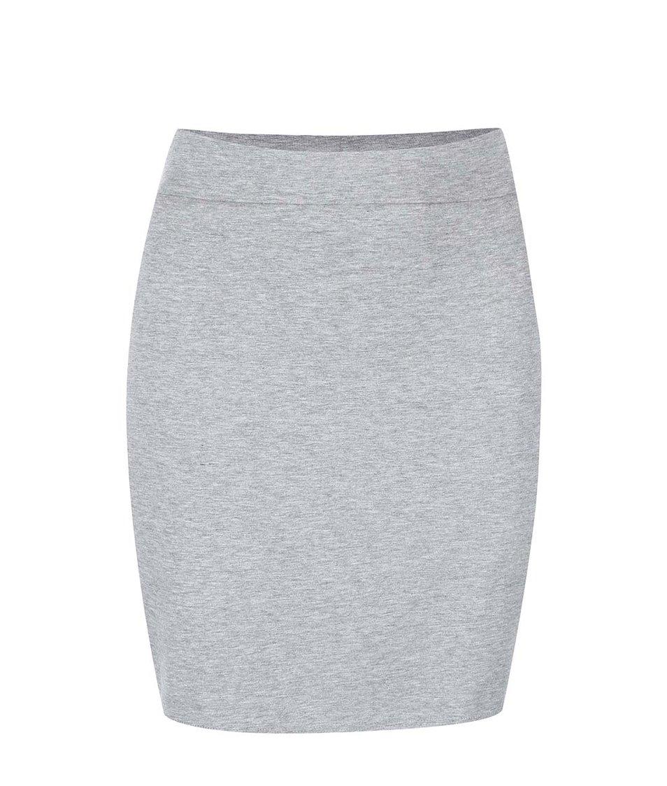 Šedá sukně New Look