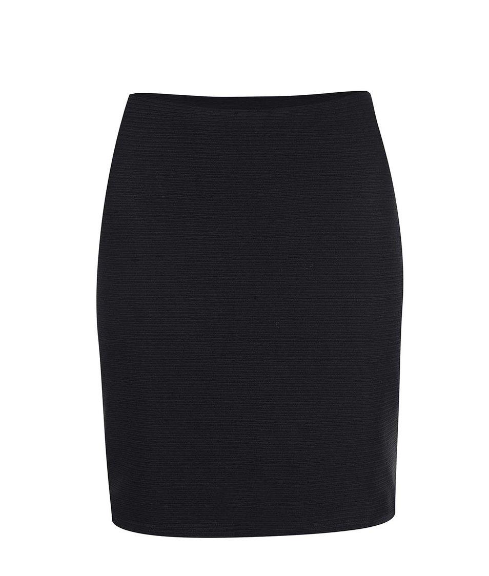 Černá vzorovaná sukně New Look