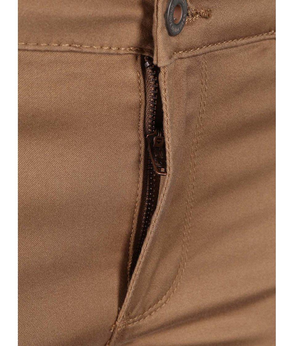 Béžové kalhoty ONLY Moto