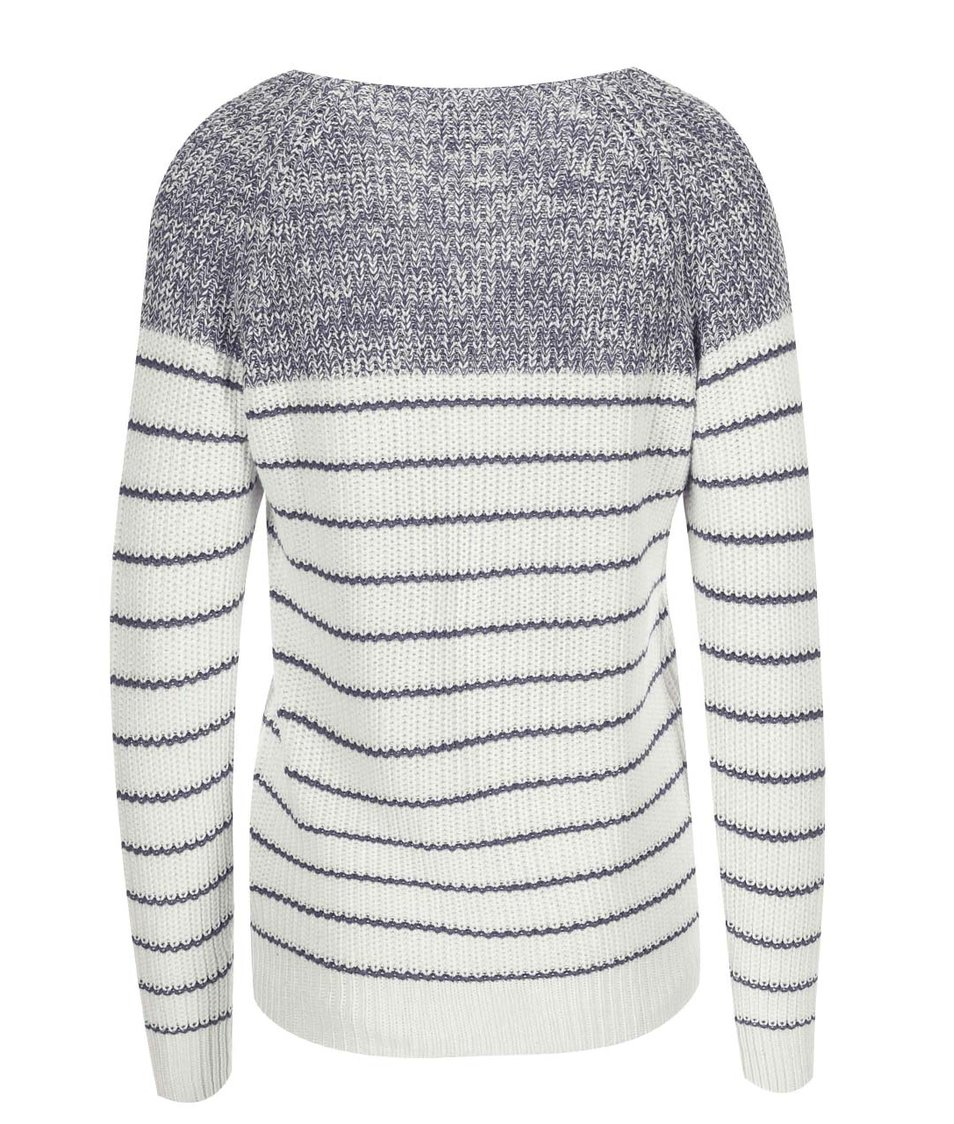 Bílo-modrý svetr Vero Moda Zoey