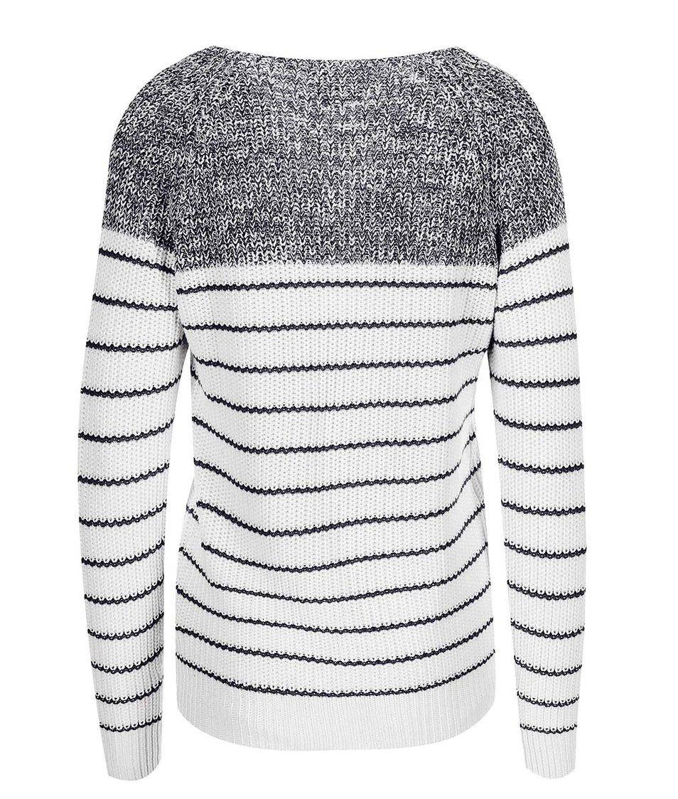 Bílo-černý svetr Vero Moda Zoey