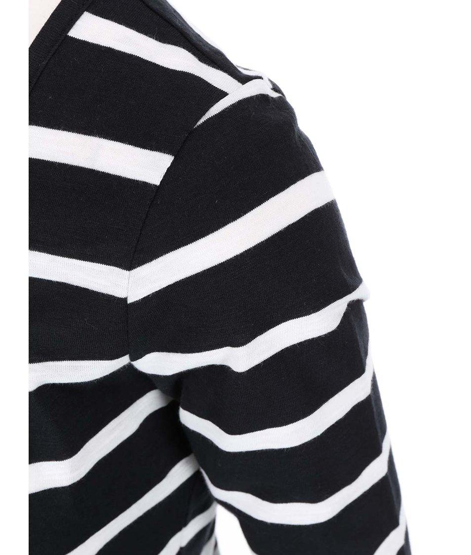 Bílo-černé pruhované tričko Vero Moda Hope