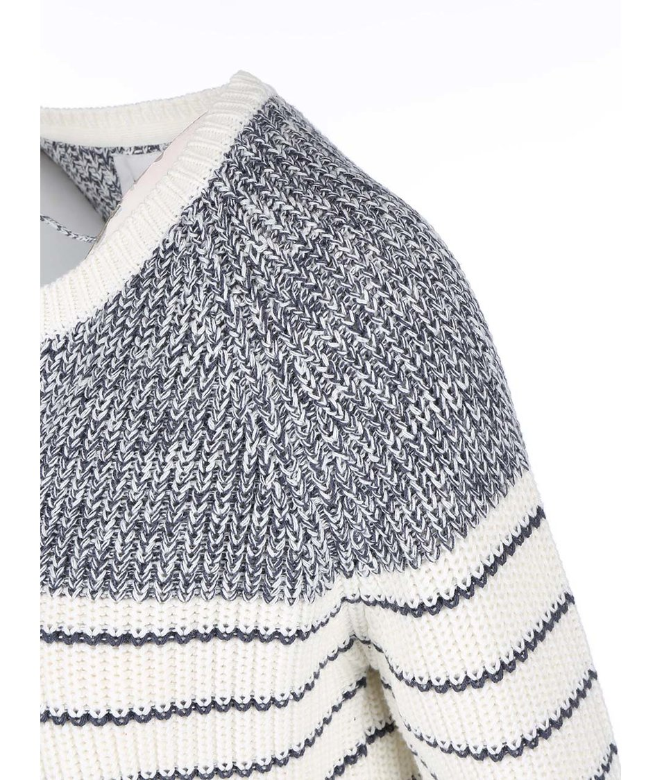 Bílo-modrý cardigan Vero Moda Zoey