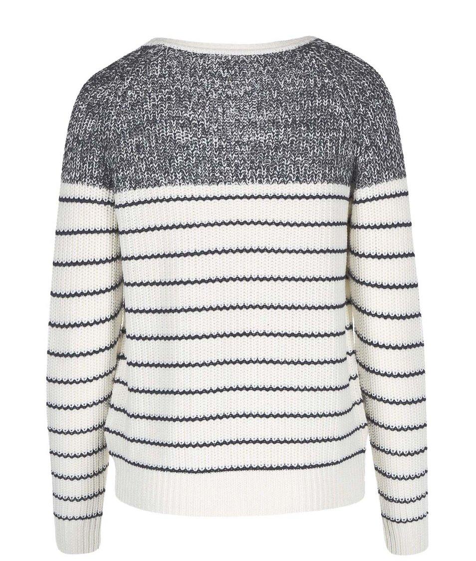 Bílo-černý cardigan Vero Moda Zoey