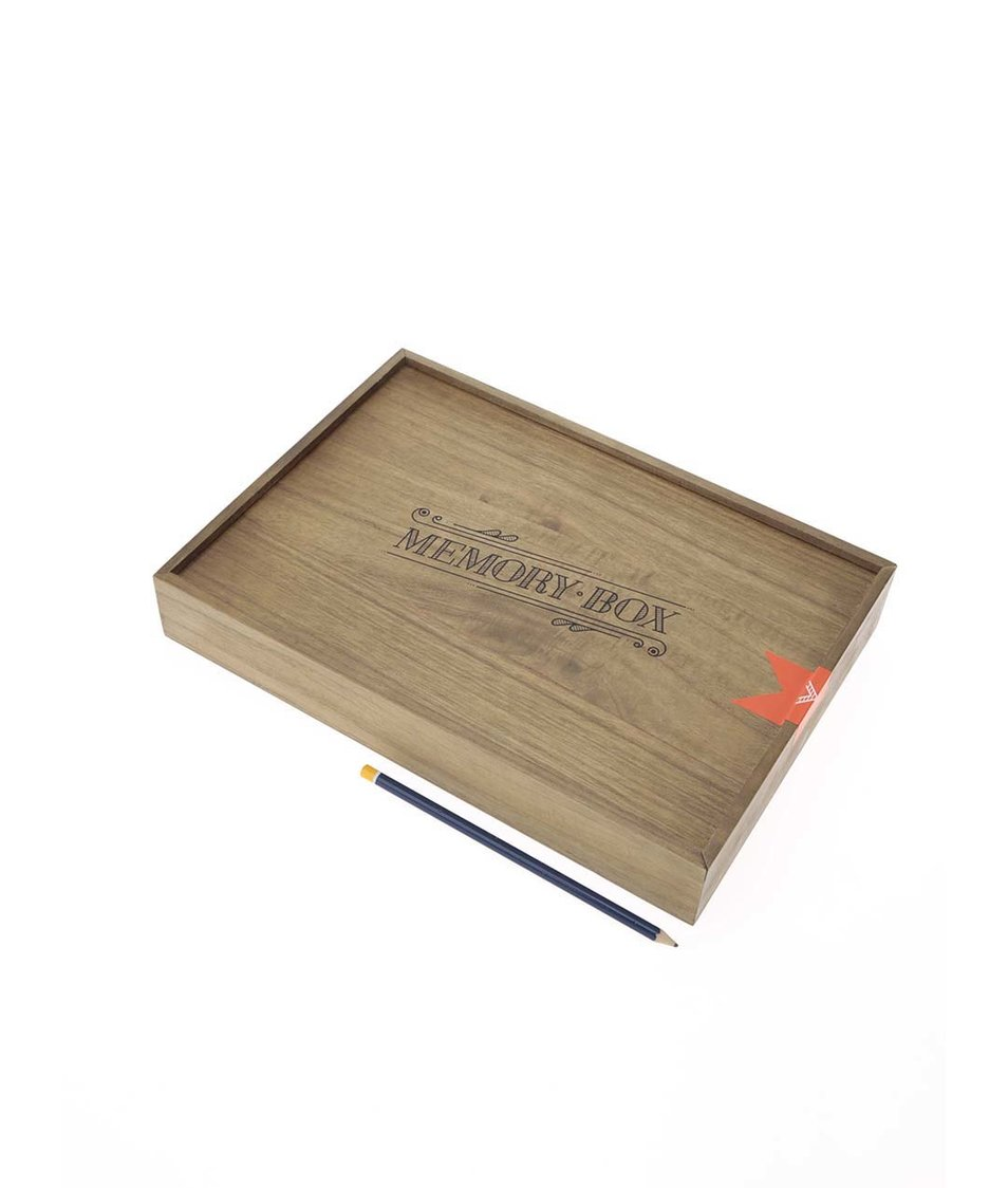 Dřevěný vzpomínkový box Luckies