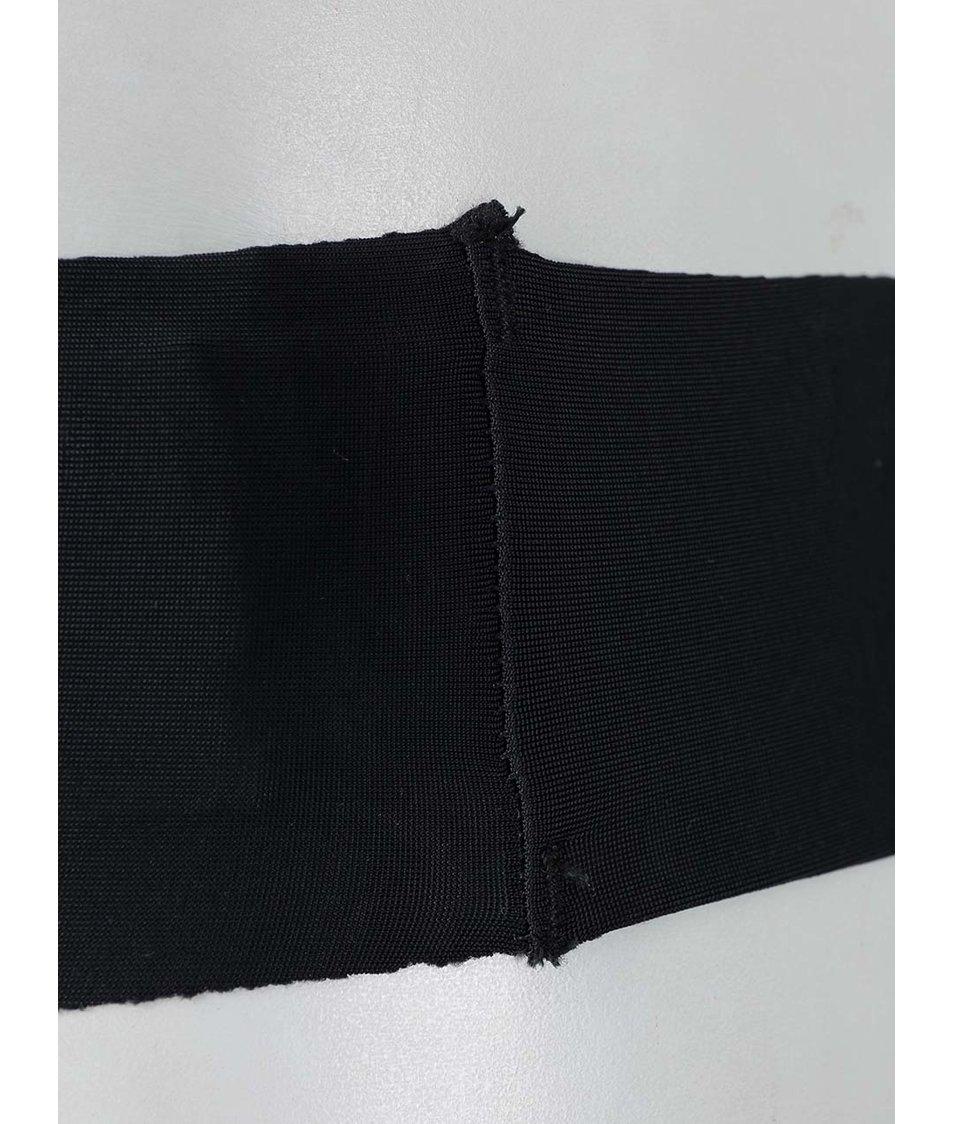 Sada tří bezešvých tang v černé, tělové a bílé barvě Haily´s