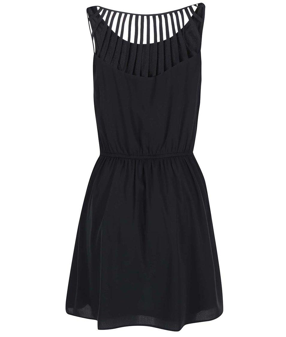 Černé šaty ONLY Mona