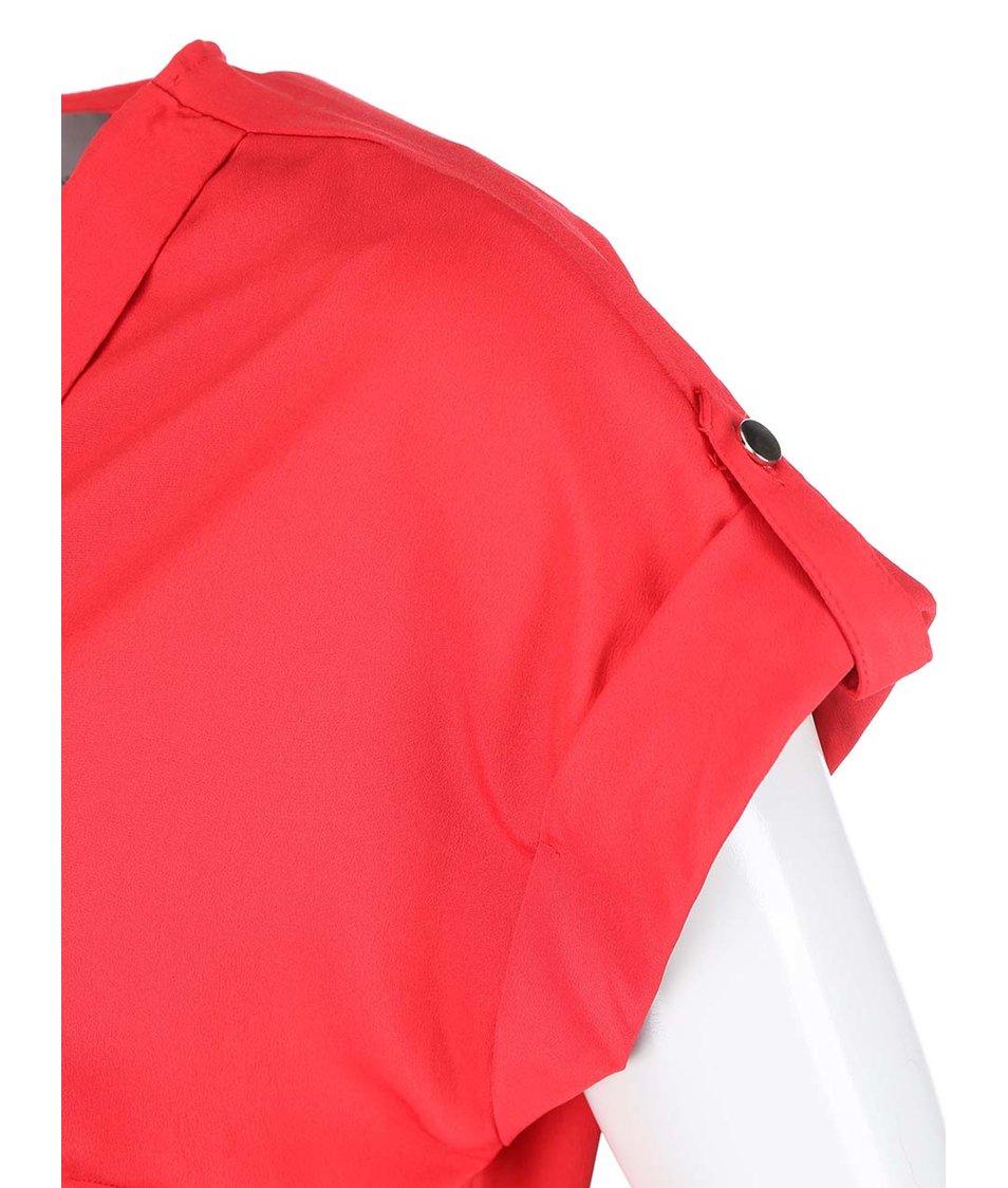 Červený overal Vero Moda Anelo
