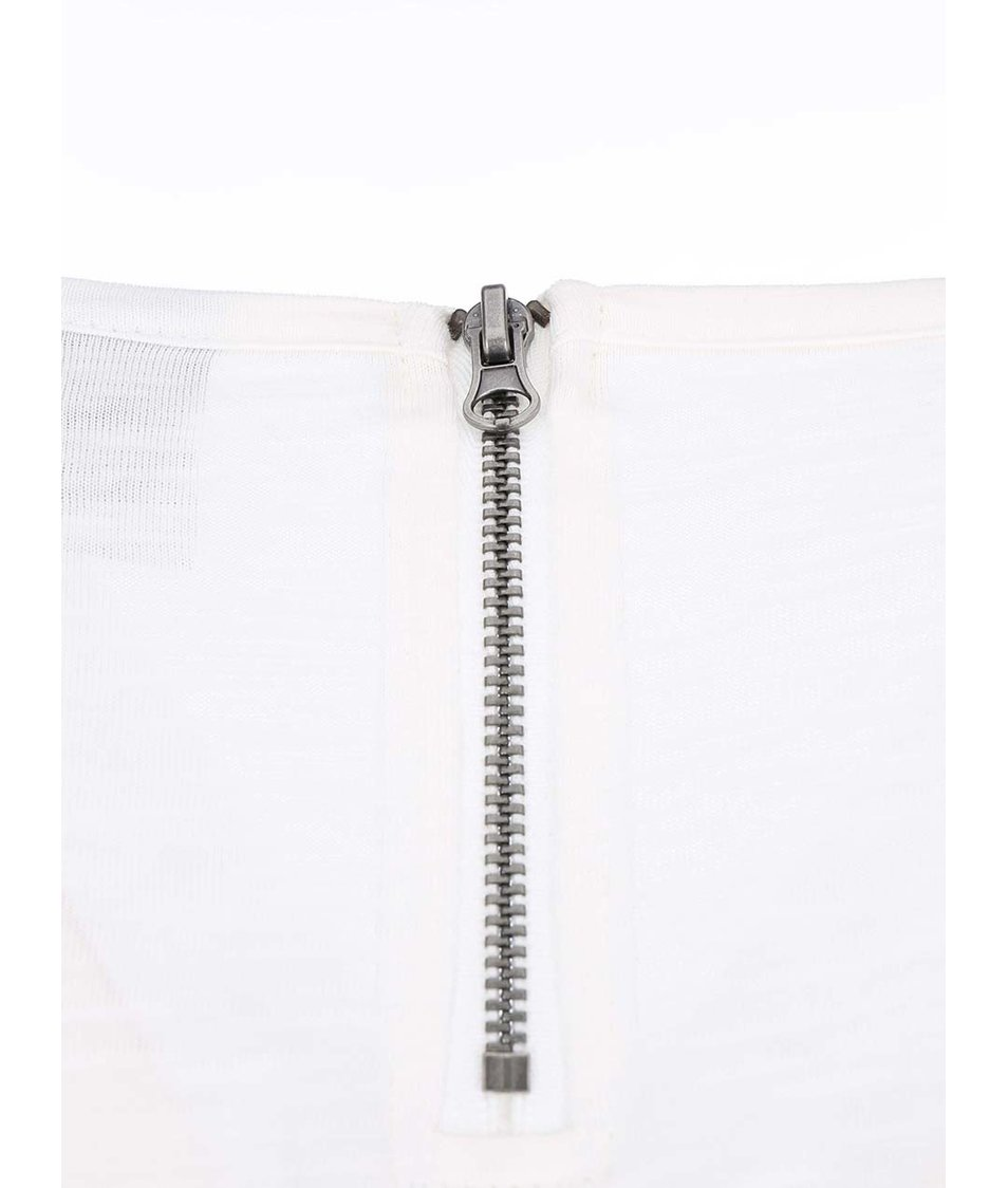 Bílé tričko s 3/4 rukávy Vero Moda Hope