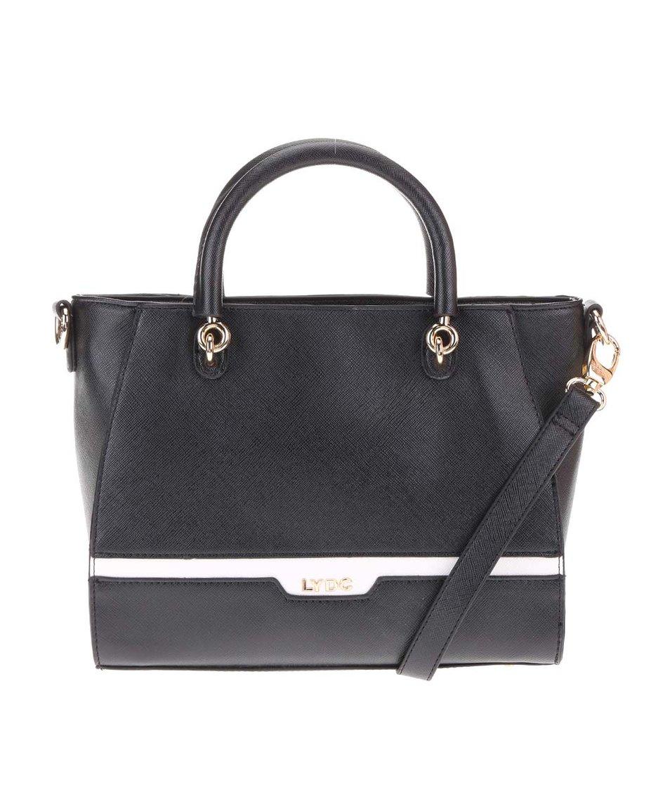 Černá elegantní kabelka LYDC