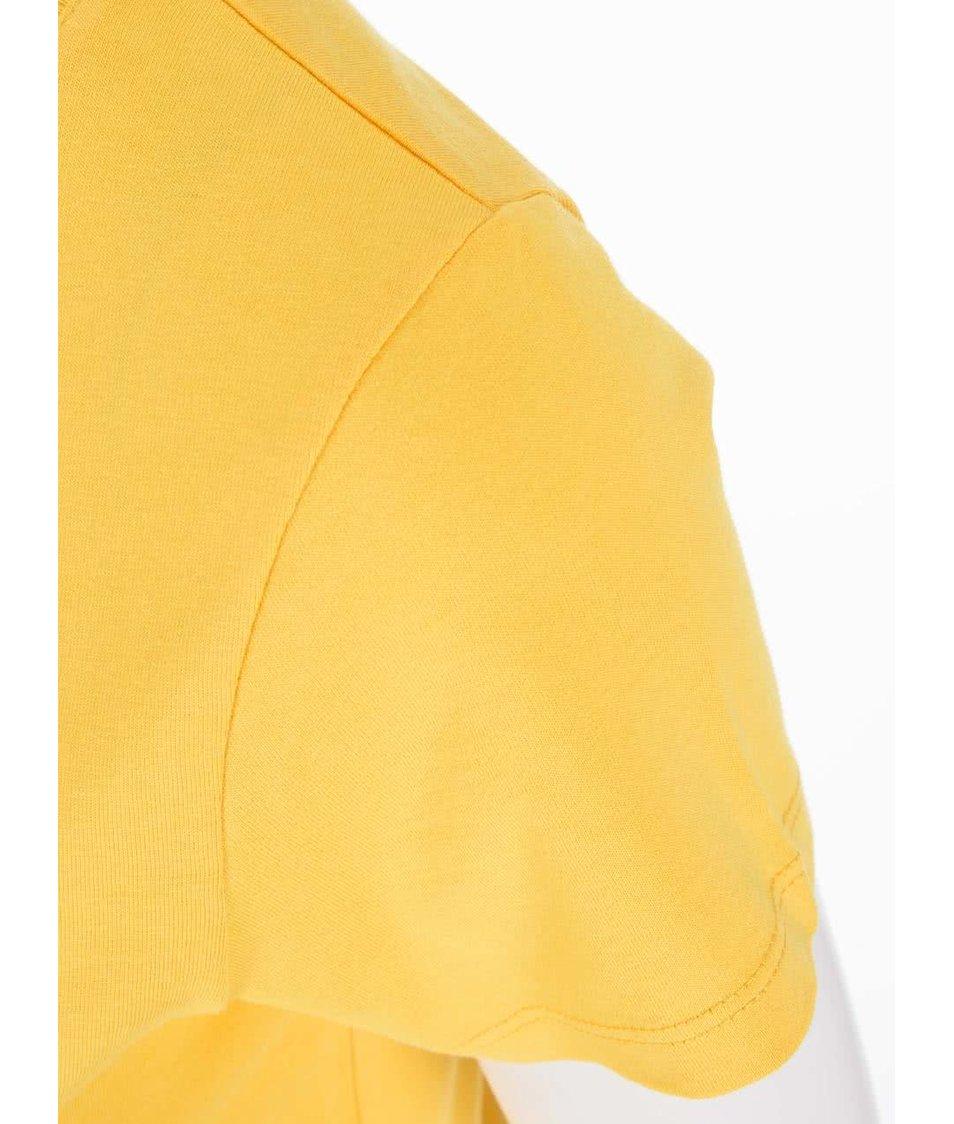 Žluté dámské triko ZOOT Originál Lev