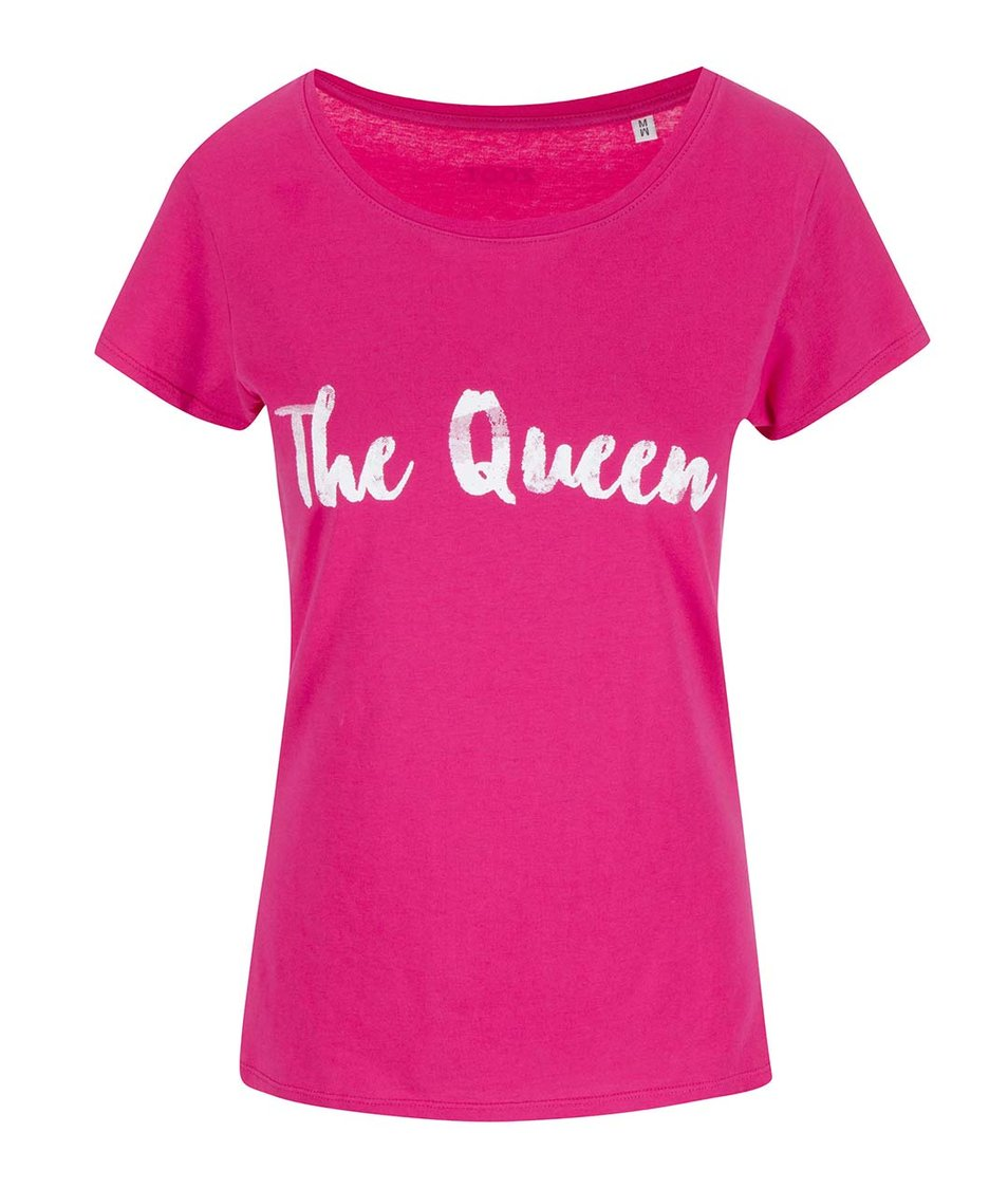 Růžové dámské triko ZOOT Originál The Queen
