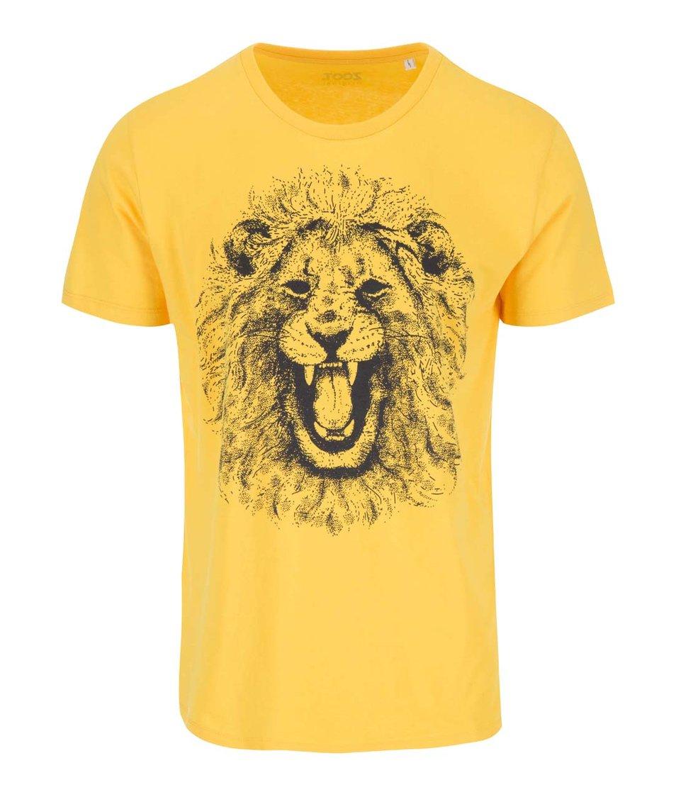 Žluté pánské triko ZOOT Originál Lev