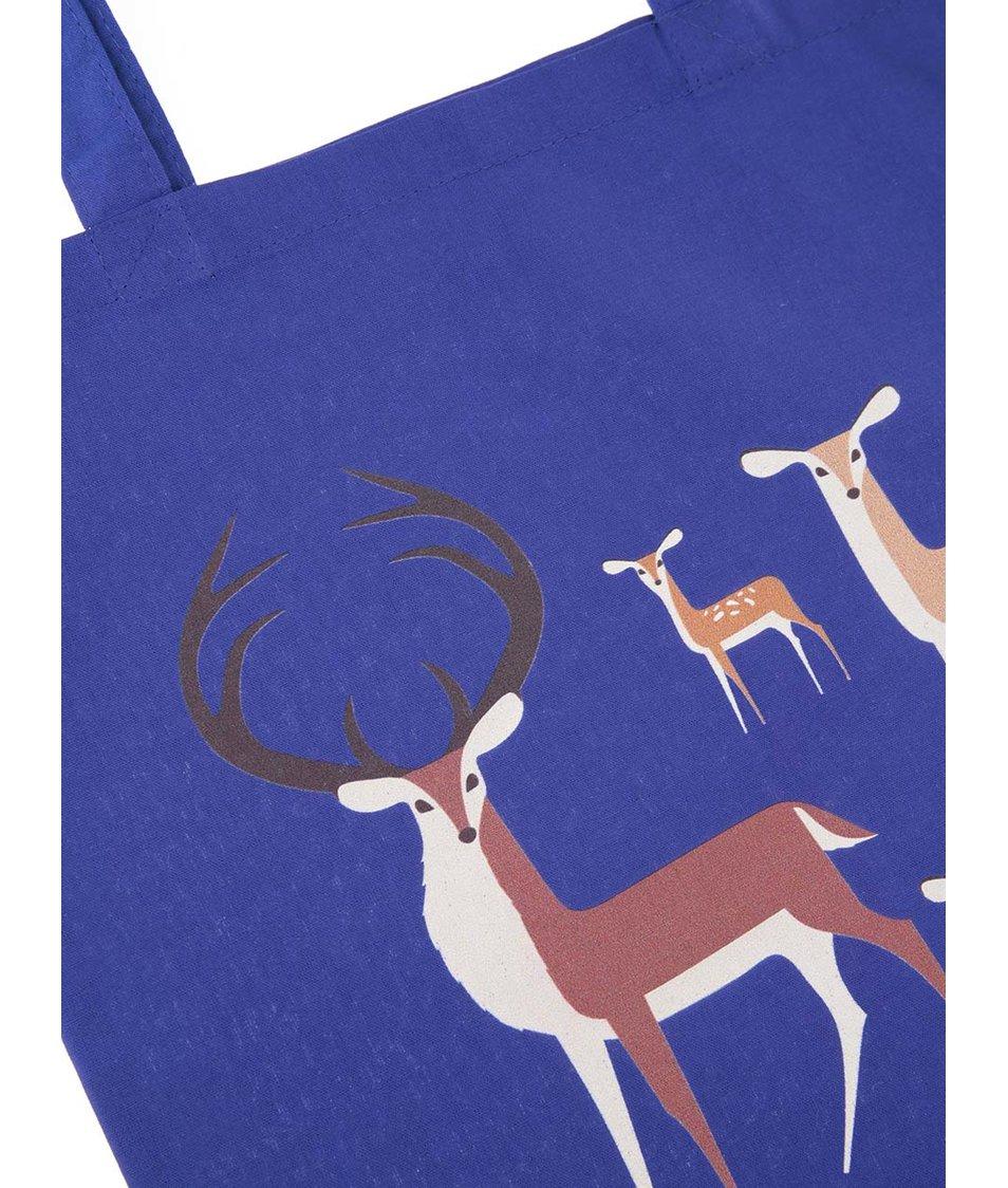 Modrá taška ZOOT Originál Jelení rodina