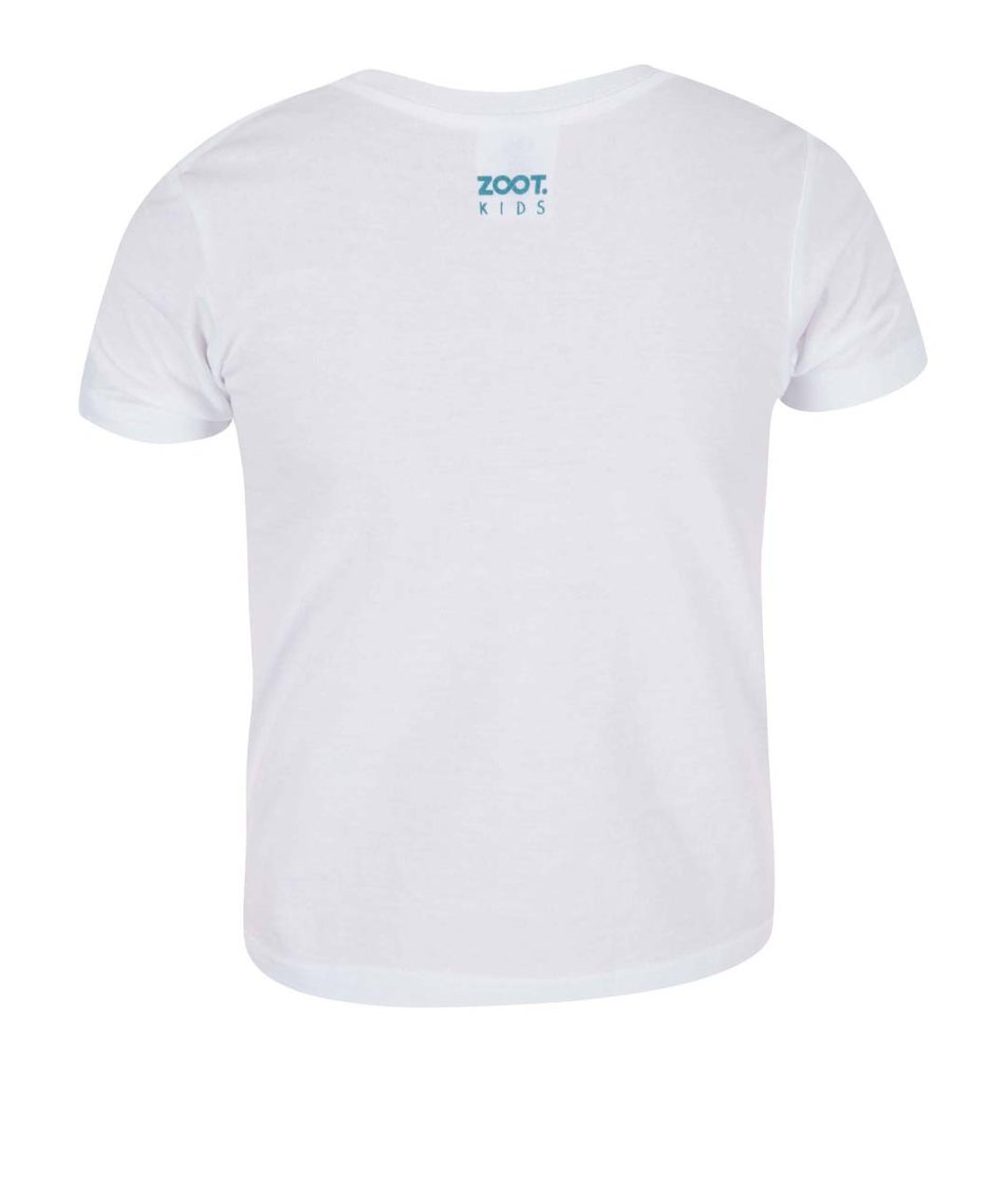 Bílé klučičí triko ZOOT Kids Celej táta