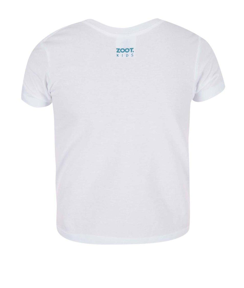 Bílé holčičí tričko ZOOT Kids Celá máma