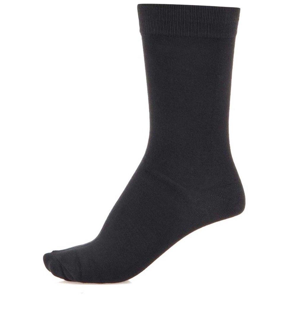 Tmavě šedé ponožky Selected Sel