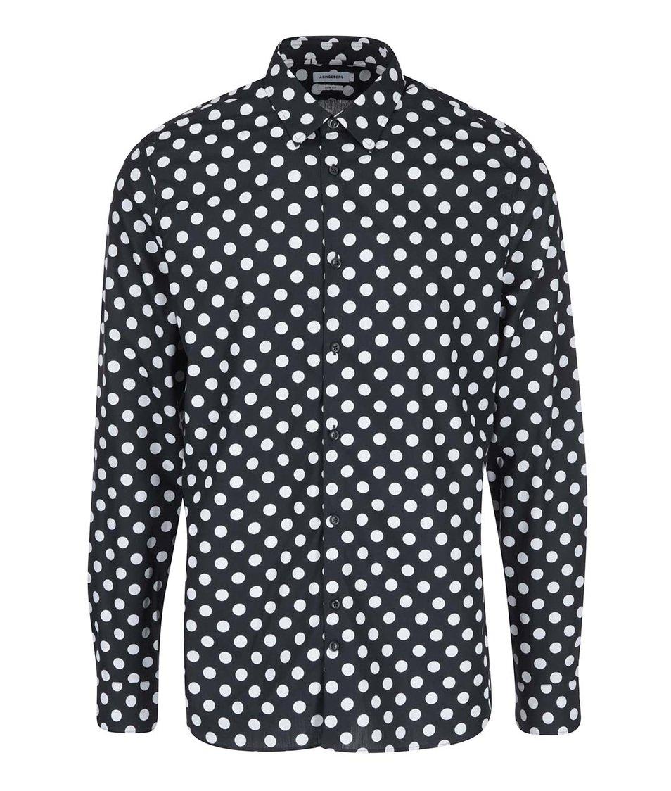 Černá košile s puntíky J.Lindeberg Dani