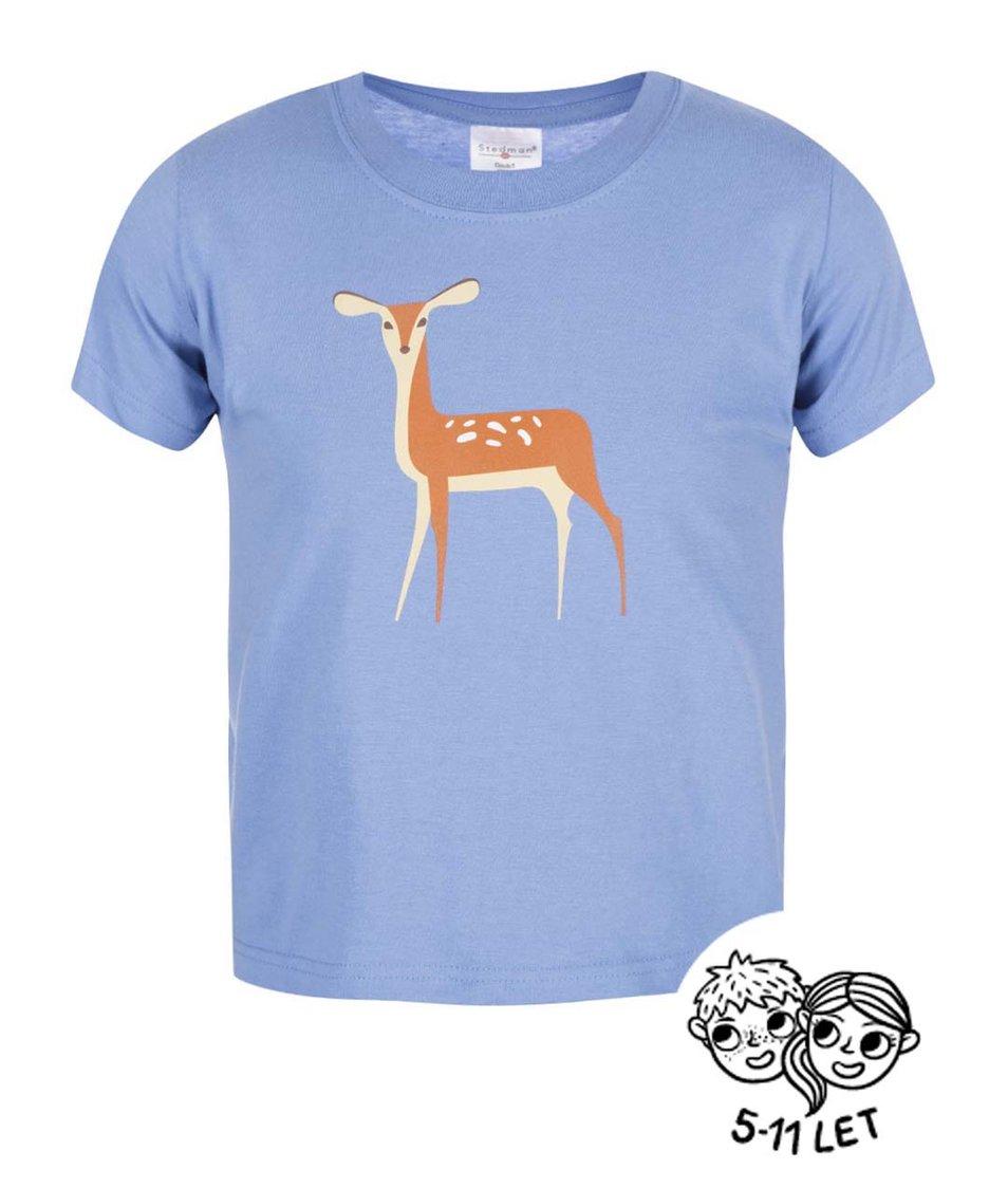 Světle modré dětské triko ZOOT Kids Koloušek