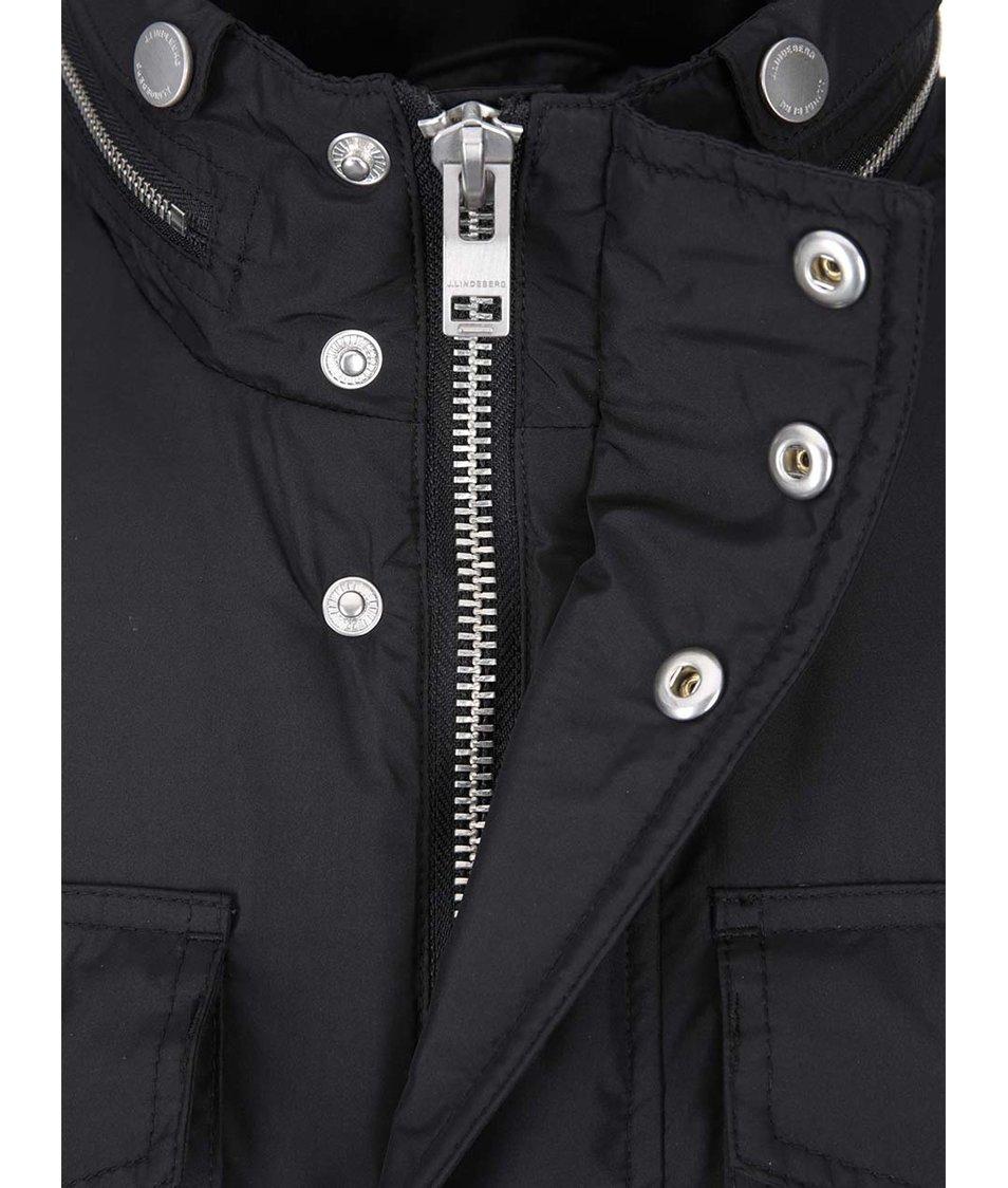 Černá bunda s kapsami J.Lindeberg Foreman