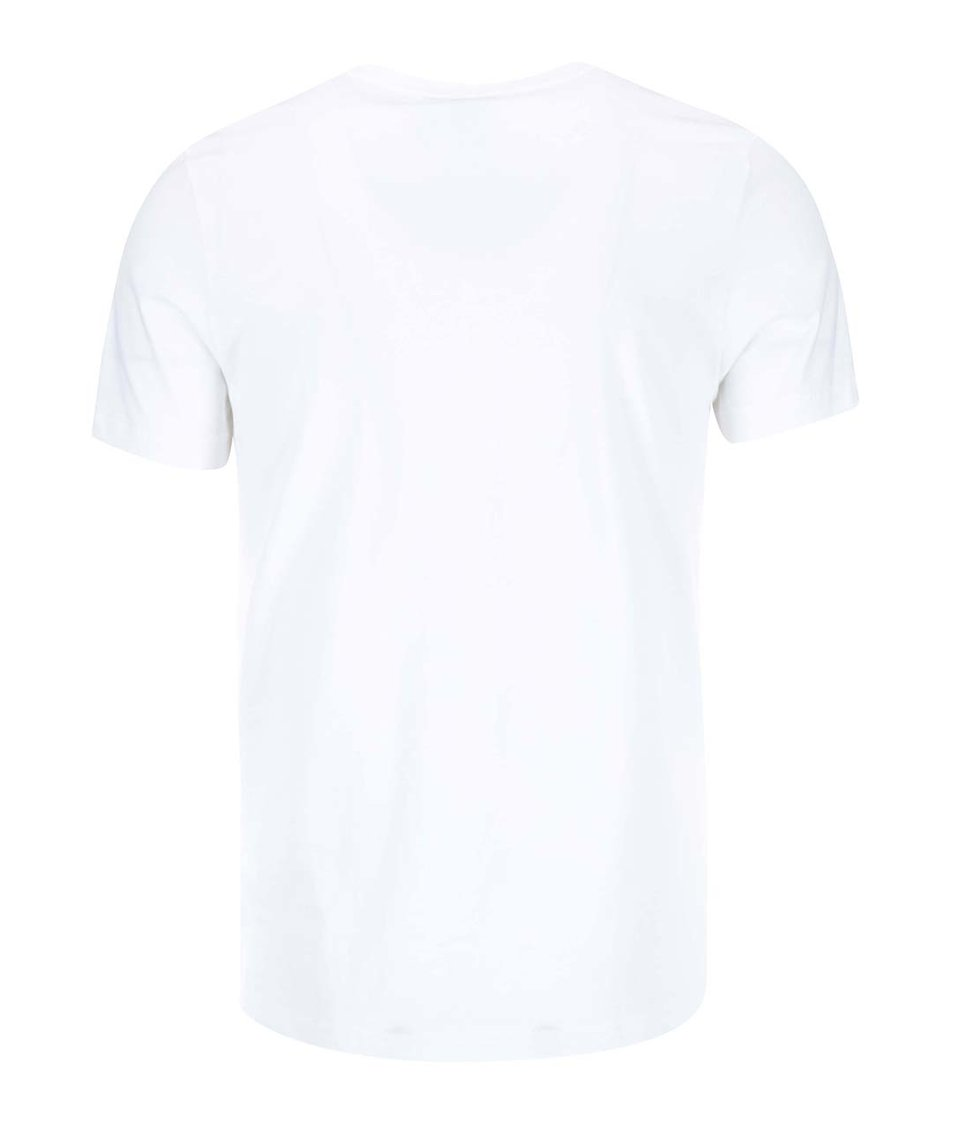 Bílé pánské triko s logem adidas Originals Flora Label TEE