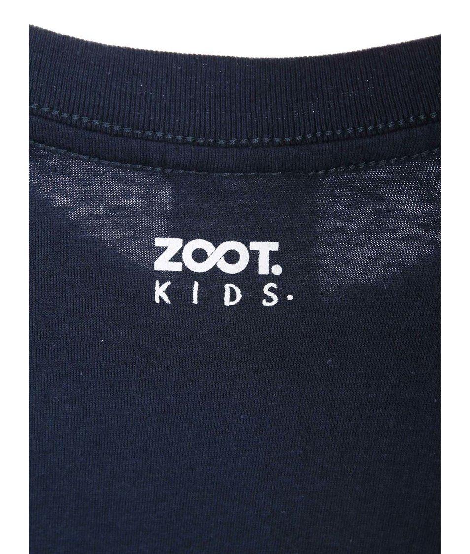 Tmavě modré dětské triko ZOOT Kids Malý vůz