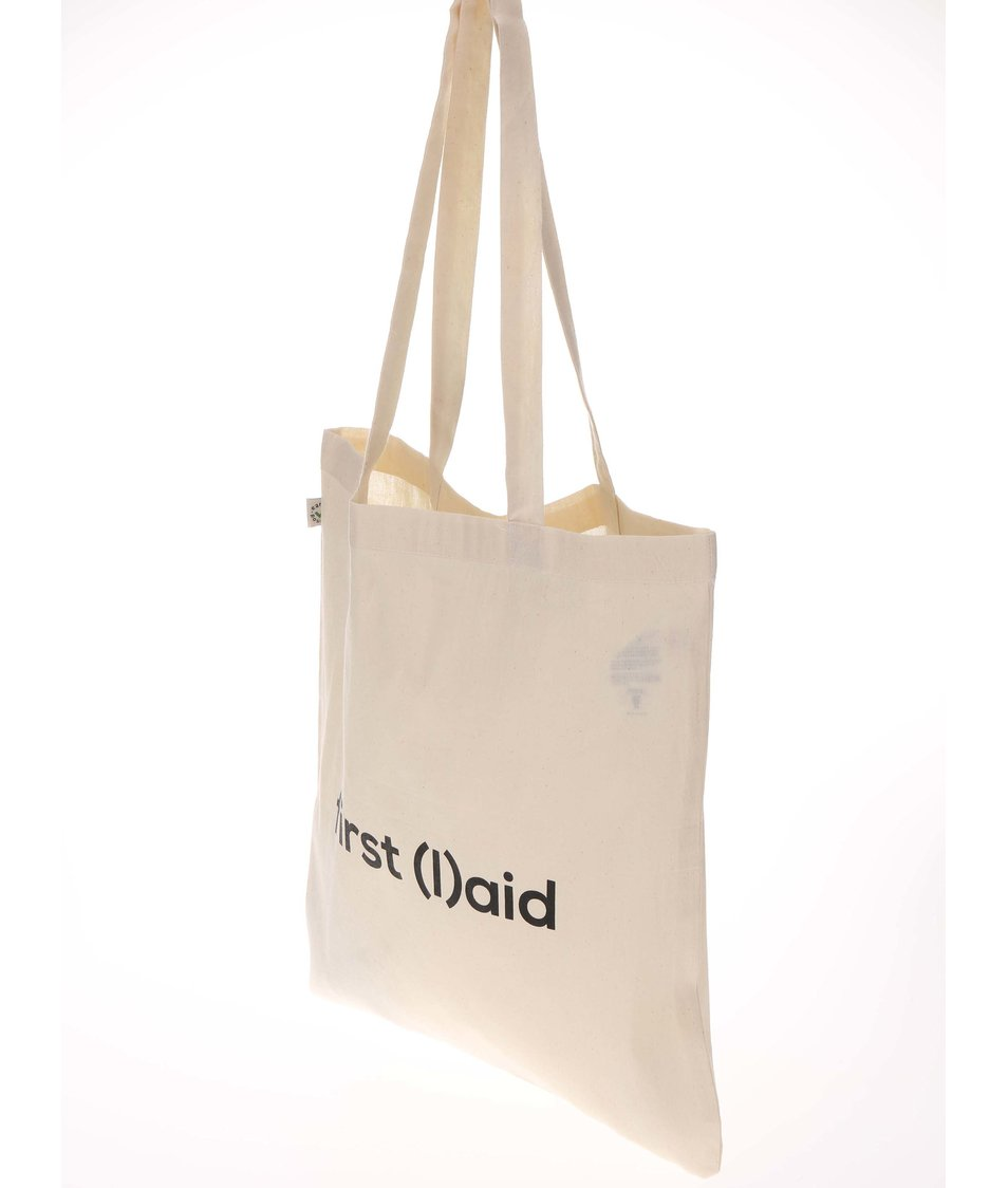 """""""Dobrá"""" krémová taška pro PrPom"""