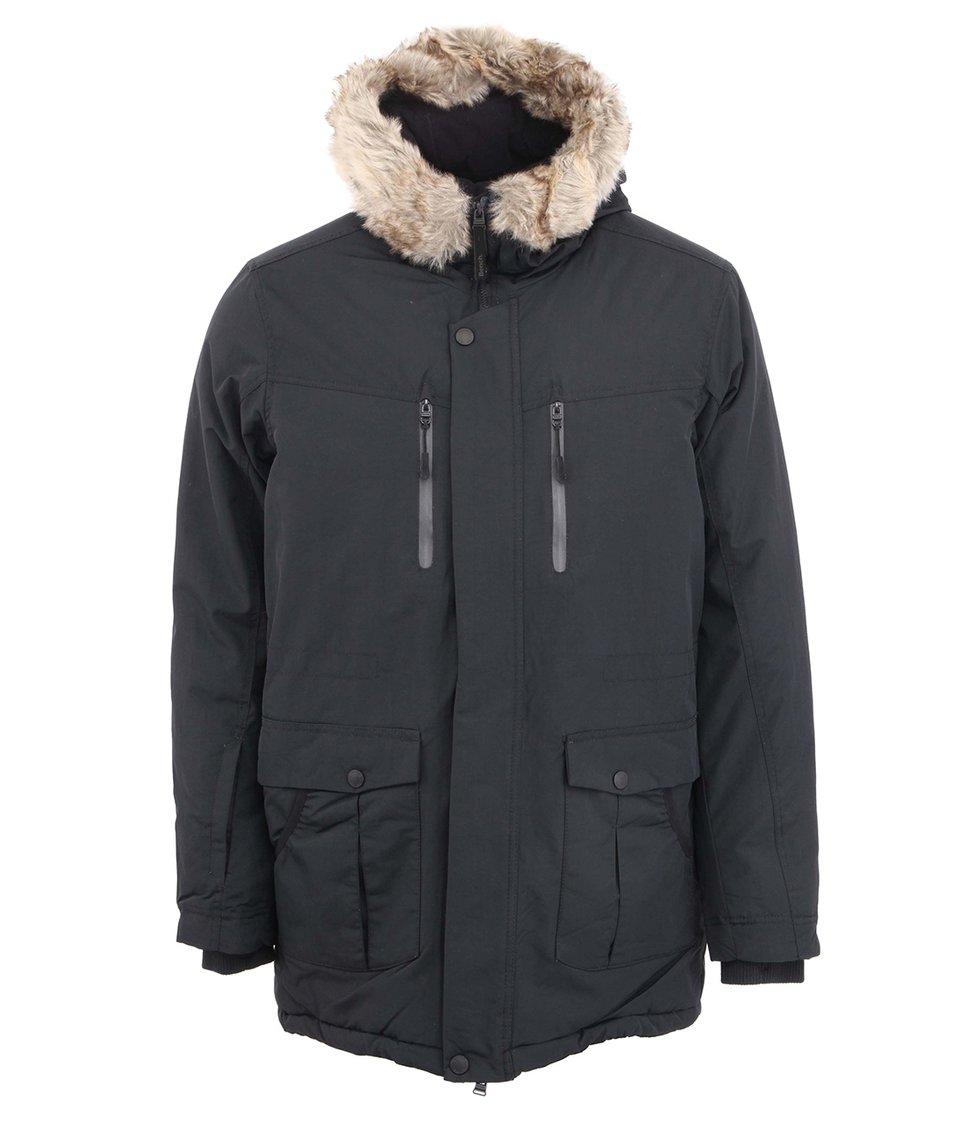 Černá pánská bunda Bench Nomen