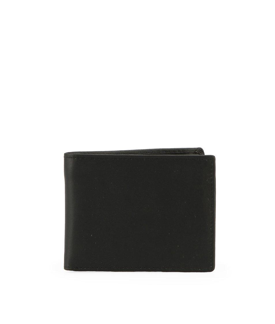 Černá pánská kožená peněženka Lucleon My