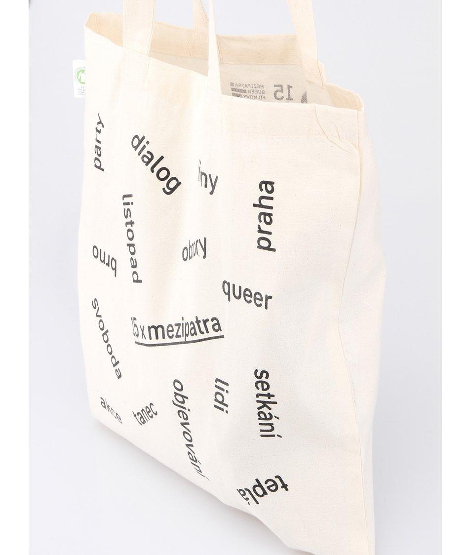 """""""Dobrá"""" bílá unisex taška pro Mezipatra"""